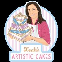 leahs-cakes-logo-design